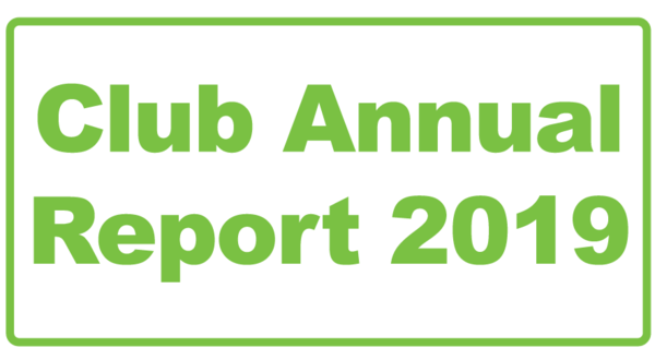 Club Annual Report 2019