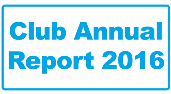 Club Annual Report 2016