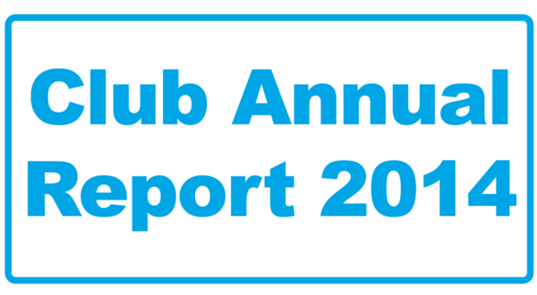 Club Annual Report 2014