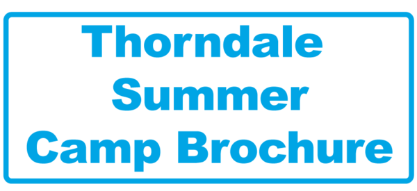 Thorndale Summer Camp Brochure