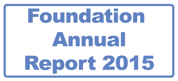 Foundation Annual Report 2015