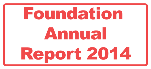Foundation Annual Report 2014