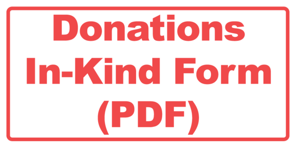 Donations In-Kind Form (PDF)